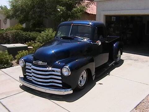 1951 Chevrolet 3100 for sale at Classic Car Deals in Cadillac MI