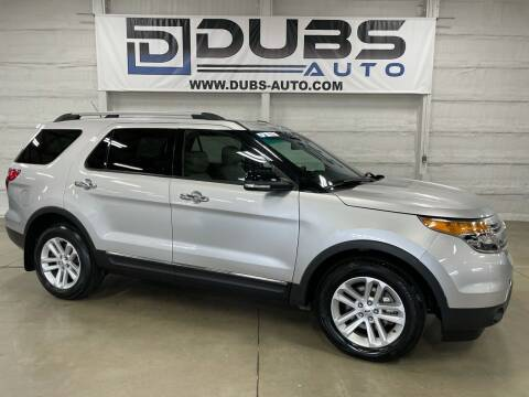 2014 Ford Explorer for sale at DUBS AUTO LLC in Clearfield UT