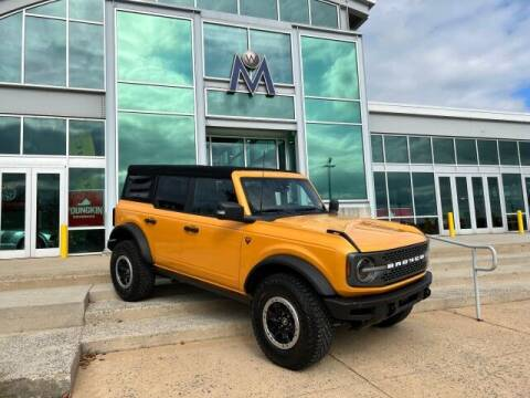 2021 Ford Bronco for sale at Motorcars Washington in Chantilly VA