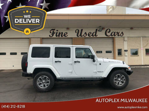 2014 Jeep Wrangler Unlimited for sale at Autoplex Milwaukee in Milwaukee WI