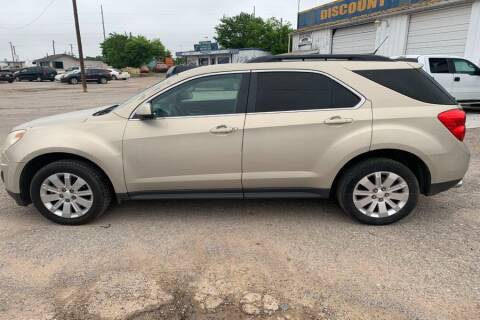 2011 Chevrolet Equinox for sale at WF AUTOMALL in Wichita Falls TX