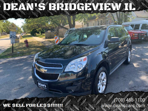 2013 Chevrolet Equinox for sale at DEANSCARS.COM in Bridgeview IL