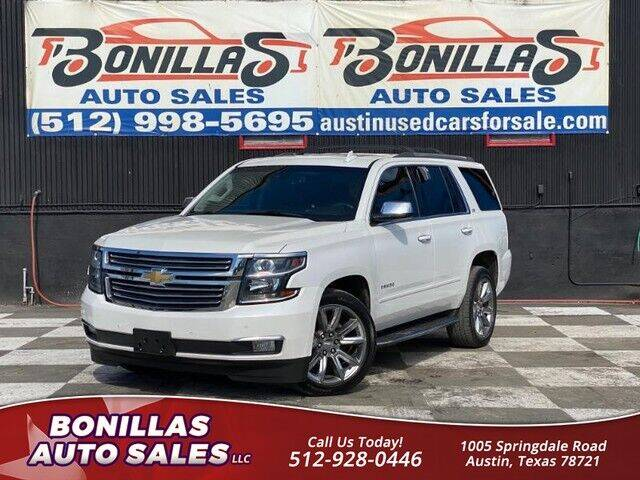 2016 Chevrolet Tahoe for sale at Bonillas Auto Sales in Austin TX