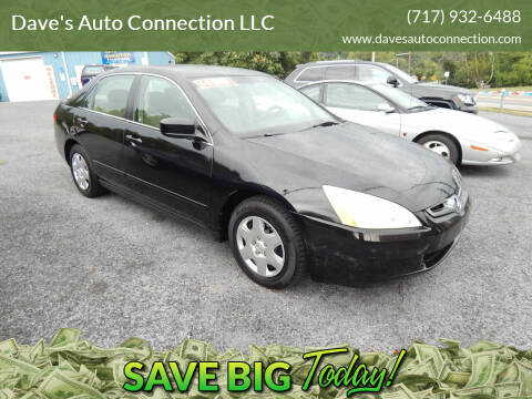 2005 Honda Accord for sale at Dave's Auto Connection LLC in Etters PA