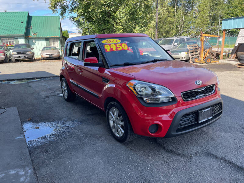 2013 Kia Soul for sale at Low Auto Sales in Sedro Woolley WA