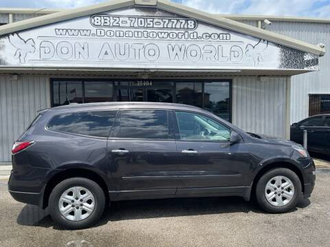 2016 Chevrolet Traverse for sale at Don Auto World in Houston TX