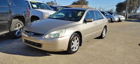 2003 Honda Accord for sale at CityWide Motors in Garland TX