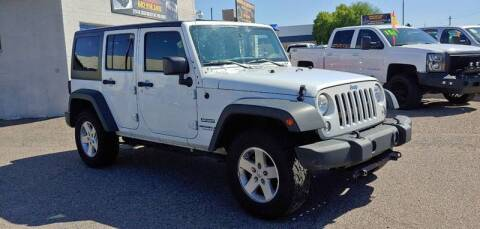 2014 Jeep Wrangler Unlimited for sale at Advantage Motorsports Plus in Phoenix AZ