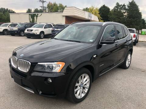 2014 BMW X3 for sale at Auto Target in O'Fallon MO