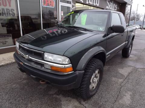 2003 Chevrolet S-10 for sale at Arko Auto Sales in Eastlake OH