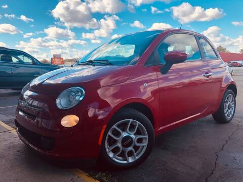 2013 FIAT 500 for sale at Daniel Auto Sales inc in Clinton Township MI