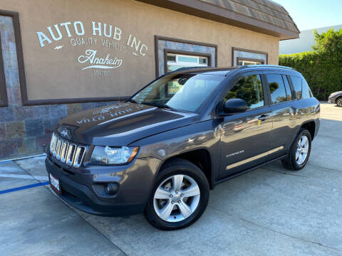 2014 Jeep Compass for sale at Auto Hub, Inc. in Anaheim CA