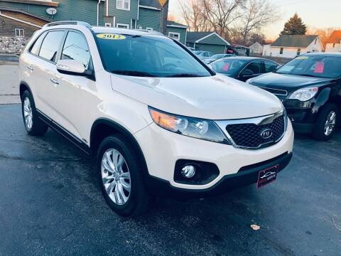 2011 Kia Sorento for sale at SHEFFIELD MOTORS INC in Kenosha WI