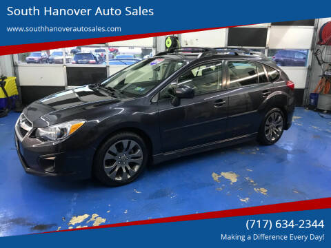 2014 Subaru Impreza for sale at South Hanover Auto Sales in Hanover PA
