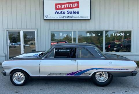 1964 Chevrolet Nova for sale at Certified Auto Sales in Des Moines IA