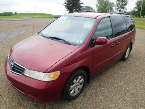 2002 Honda Odyssey for sale at WESTERN RESERVE AUTO SALES in Beloit OH