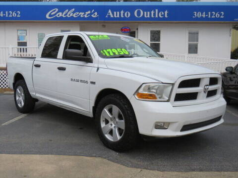 2012 RAM Ram Pickup 1500 for sale at Colbert's Auto Outlet in Hickory NC