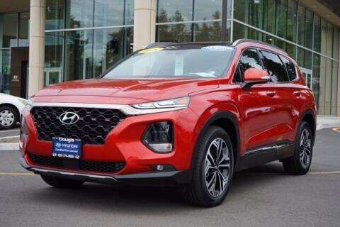 2019 Hyundai Santa Fe for sale at Jeremy Sells Hyundai in Edmonds WA