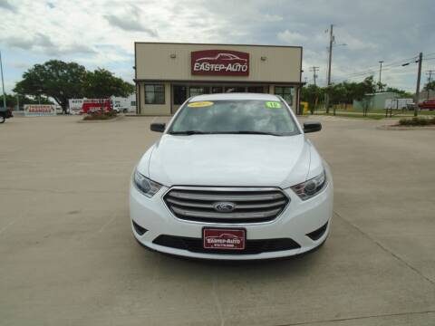 2018 Ford Taurus for sale at Eastep Auto Sales in Bryan TX