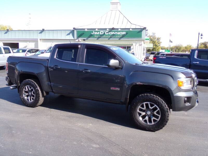2016 GMC Canyon for sale at Jim O'Connor Select Auto in Oconomowoc WI