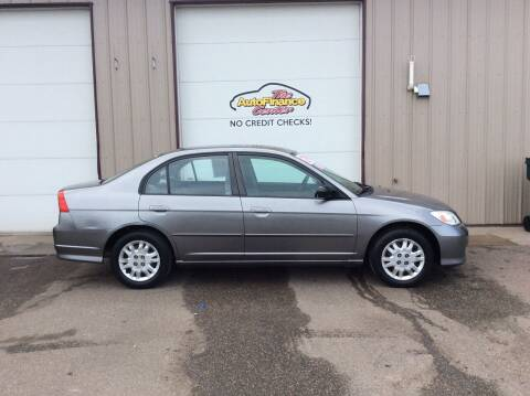 2004 Honda Civic for sale at The AutoFinance Center in Rochester MN