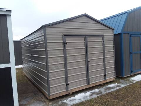 2019 Premier Portable Building 10x16 Tool Shed SOLD for sale at Dave's Auto Sales & Service - Premier Buildings in Weyauwega WI