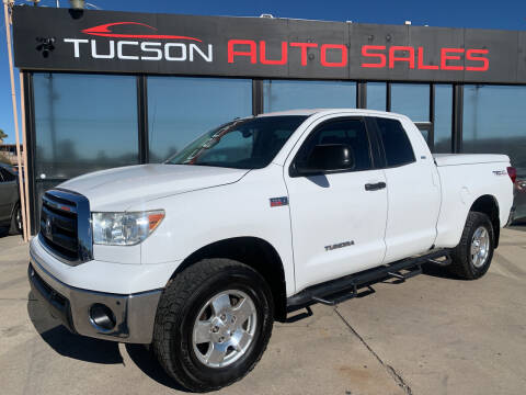 2012 Toyota Tundra for sale at Tucson Auto Sales in Tucson AZ