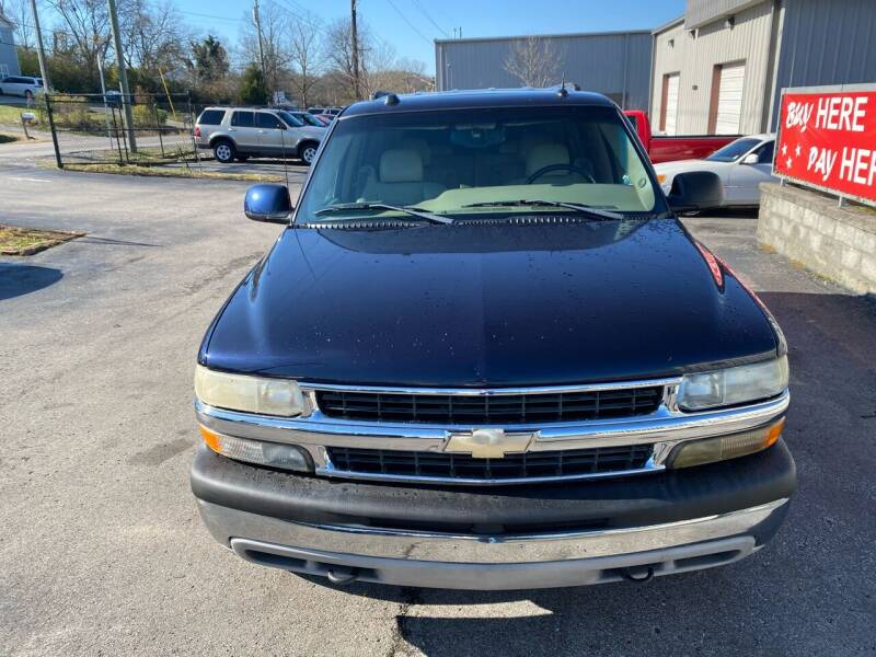 2004 Chevrolet Tahoe for sale at Mitchell Motor Company in Madison TN