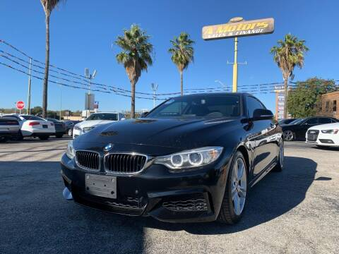 2015 BMW 4 Series for sale at A MOTORS SALES AND FINANCE - 6226 San Pedro Lot in San Antonio TX