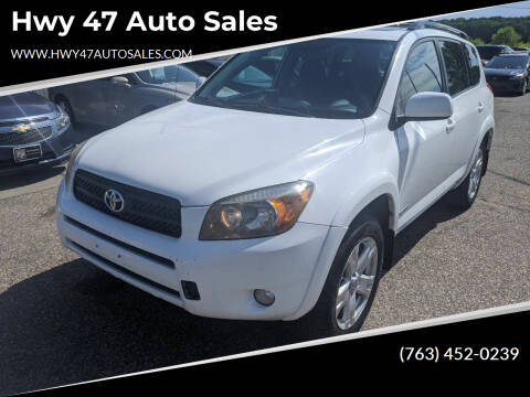 2006 Toyota RAV4 for sale at Hwy 47 Auto Sales in Saint Francis MN