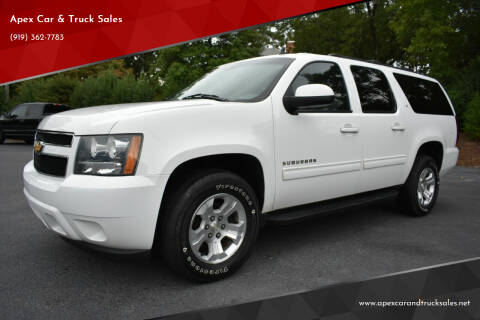 2014 Chevrolet Suburban for sale at Apex Car & Truck Sales in Apex NC