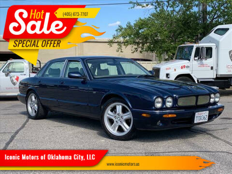 2002 Jaguar XJ-Series for sale at Iconic Motors of Oklahoma City, LLC in Oklahoma City OK
