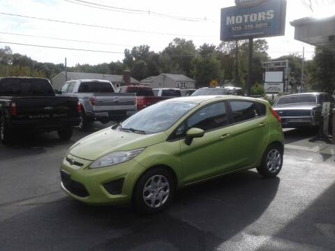 2011 Ford Fiesta for sale at Route 106 Motors in East Bridgewater MA