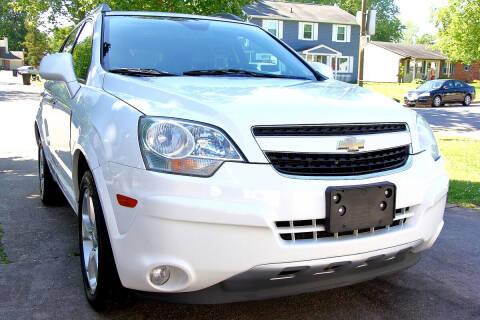 2013 Chevrolet Captiva Sport for sale at Prime Auto Sales LLC in Virginia Beach VA