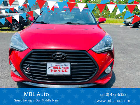2013 Hyundai Veloster for sale at MBL Auto Woodford in Woodford VA