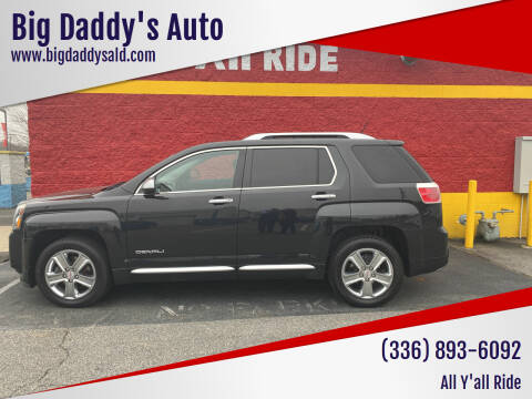 2013 GMC Terrain for sale at Big Daddy's Auto in Winston-Salem NC