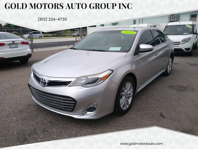 2014 Toyota Avalon for sale at Gold Motors Auto Group Inc in Tampa FL