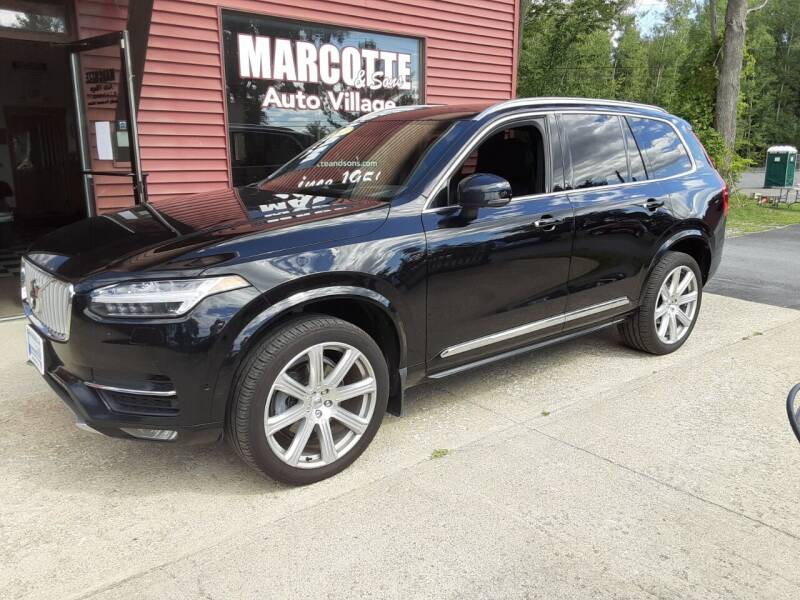 2017 Volvo XC90 for sale at Marcotte & Sons Auto Village in North Ferrisburgh VT