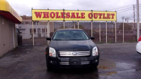 2007 Ford Fusion for sale at LONG BROTHERS CAR COMPANY in Cleveland OH