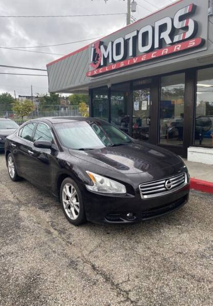 2012 Nissan Maxima for sale at i3Motors in Baltimore MD