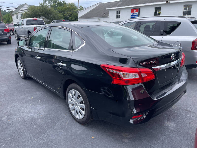 2017 Nissan Sentra for sale at Chilson-Wilcox Inc Lawrenceville in Lawrenceville PA