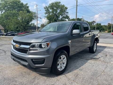 2020 Chevrolet Colorado for sale at RC Auto Brokers, LLC in Marietta GA