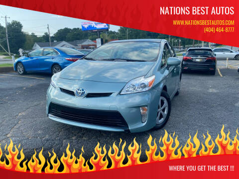 2012 Toyota Prius for sale at Nations Best Autos in Decatur GA