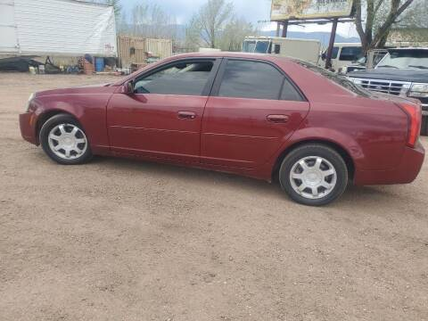 2003 Cadillac CTS for sale at PYRAMID MOTORS - Fountain Lot in Fountain CO