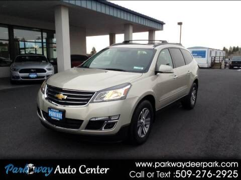 2015 Chevrolet Traverse for sale at PARKWAY AUTO CENTER AND RV in Deer Park WA