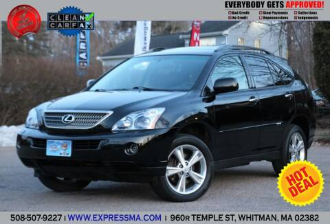 2008 Lexus RX 400h for sale at Auto Sales Express in Whitman MA