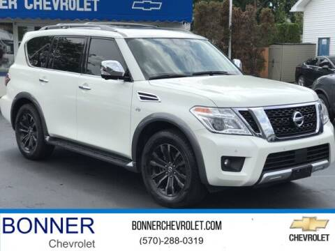 2018 Nissan Armada for sale at Bonner Chevrolet in Kingston PA