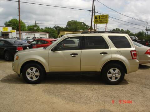 2010 Ford Escape for sale at A-1 Auto Sales in Conroe TX