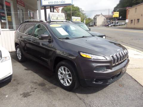 2014 Jeep Cherokee for sale at Fulmer Auto Cycle Sales - Fulmer Auto Sales in Easton PA