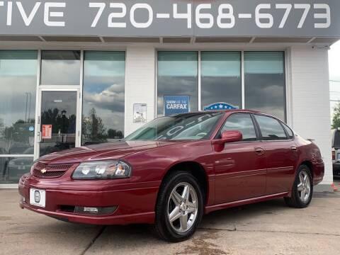 2005 Chevrolet Impala for sale at Shift Automotive in Denver CO